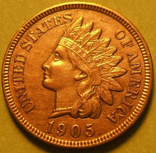 1905 Indian Head Cent