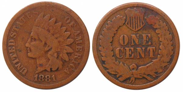 1881 Indian Head Cent G4