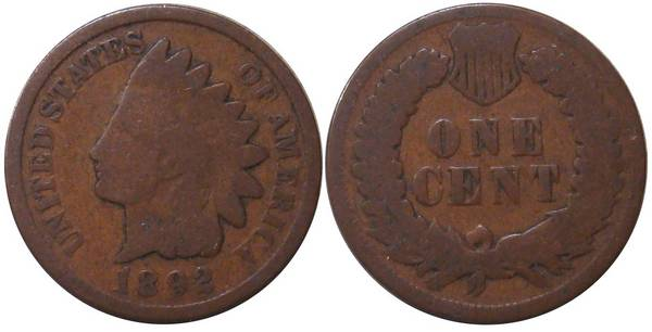 1892 Indian Head Cent G4