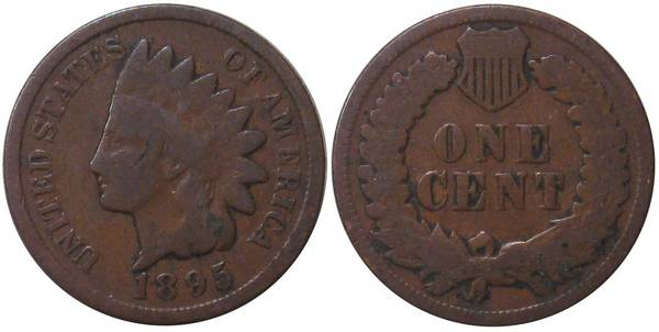 1895 Indian Head Cent G4