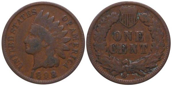 1898 Indian Head Cent G4