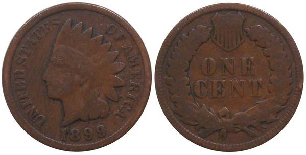 1899 Indian Head Cent G4