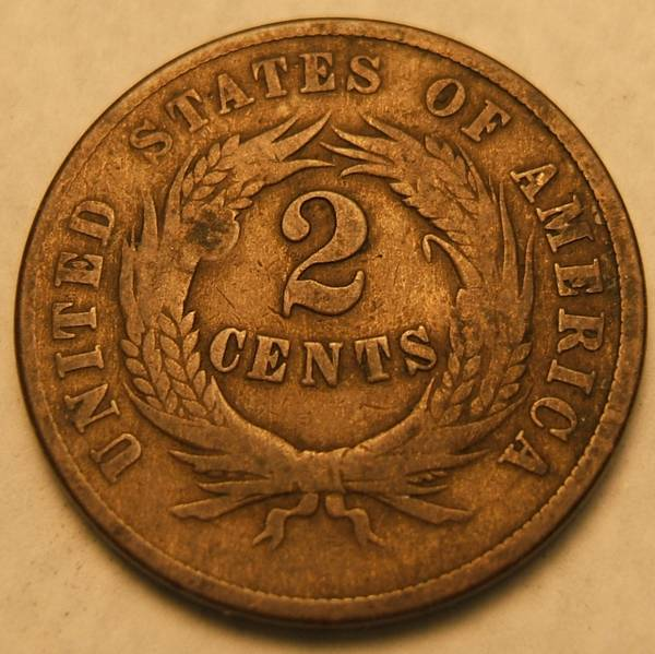 Reverse Two Cent Piece