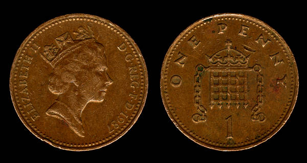 great britain 1 penny 1987