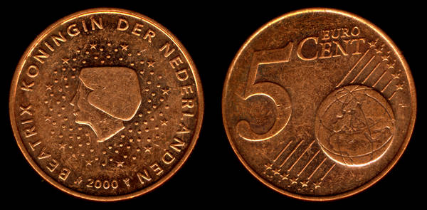Netherlands 5 Euro Cent 2000 My Coin Pictures