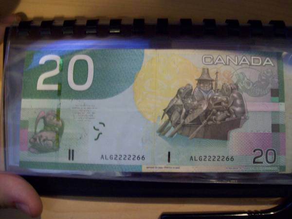 2005 edition 20 dollar note