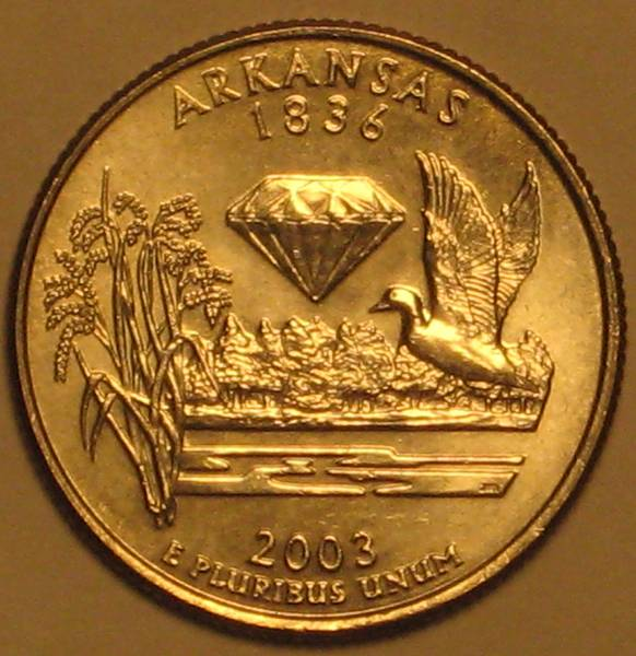 2003 Arkansas State Quarter