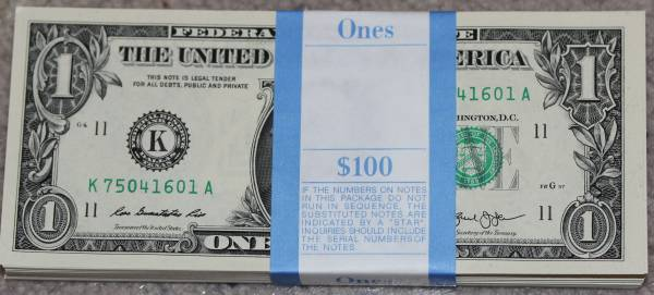 100 Pack Federal Reserve note 2013 Dallas K75041601A.JPG