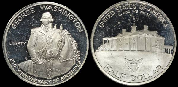 1982 George Washington Commemorative