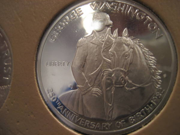 George Washington Commemorative Half Proof
