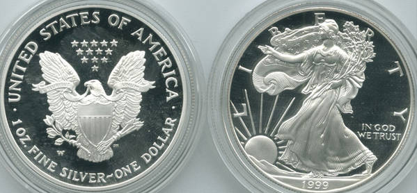 1999 Proof ASE