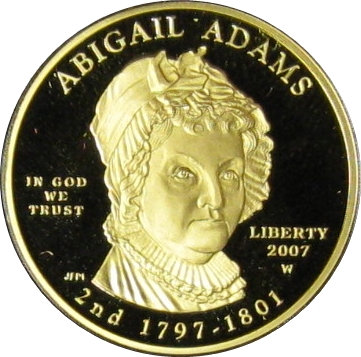 2007 Proof Abigail Adams