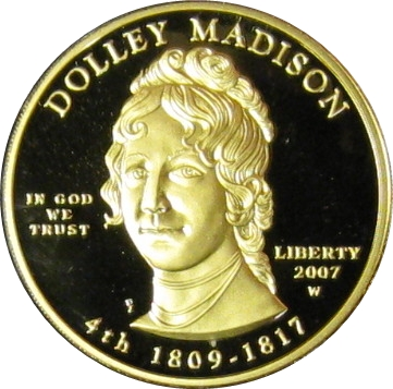 2007 Dolley Madison Proof