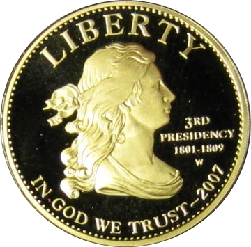 2007 Jefferson Liberty Proof