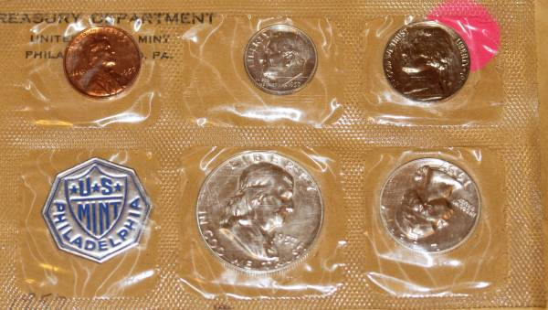 1957 United States Proof Set Obverse