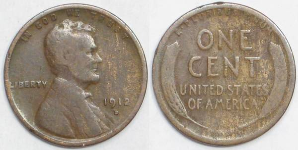 1912 D Lincoln Cent G4