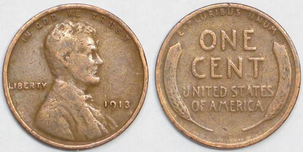 1913 P Lincoln Cent G4