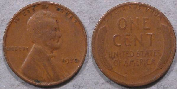 1930 P Lincoln Cent G4