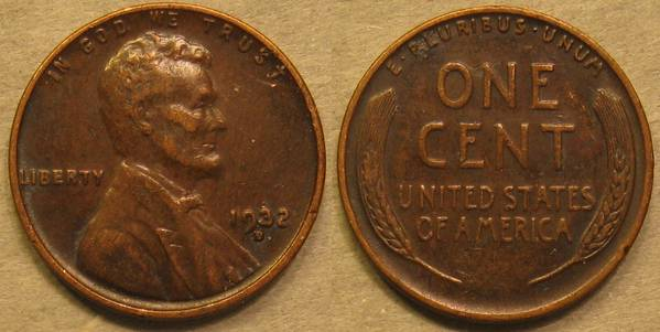 1932 D Lincoln Cent VF20
