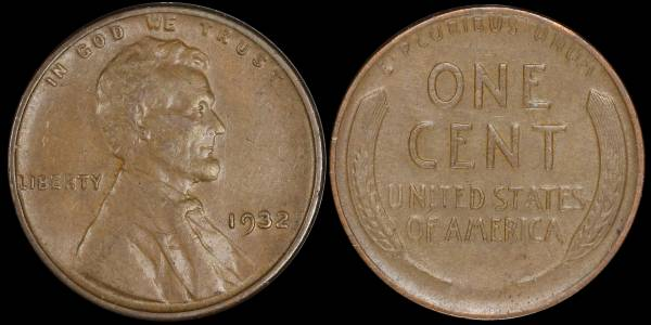 1932 P Lincoln Cent XF