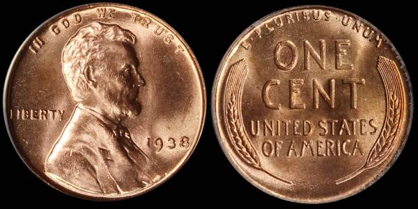 1938 P Lincoln Cent ANACS MS64 RED 5048324 raw.JPG
