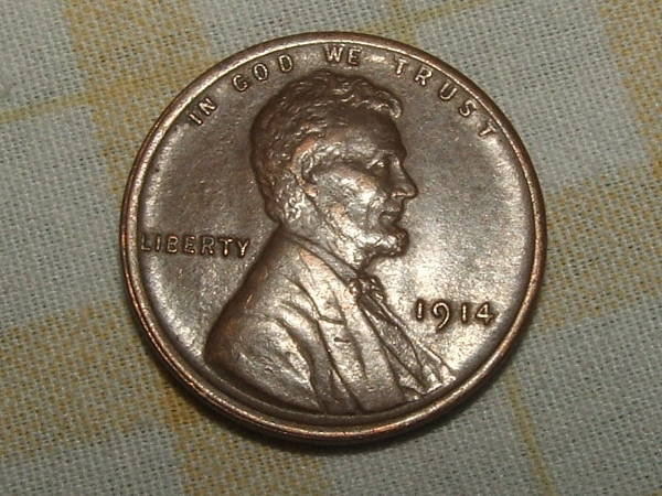 1914-P Lincoln Cent