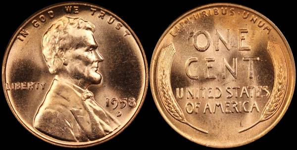 1958 Uncirculated Penny – Wonderful Image Gallery