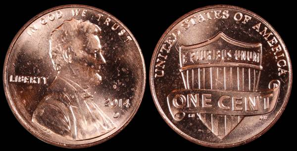 2014 D Lincoln Cent Uncirculated