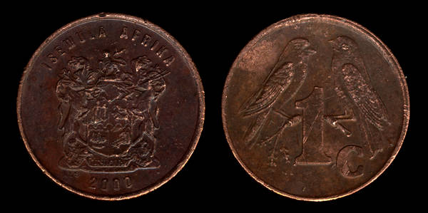 South Africa 1 cent 2000