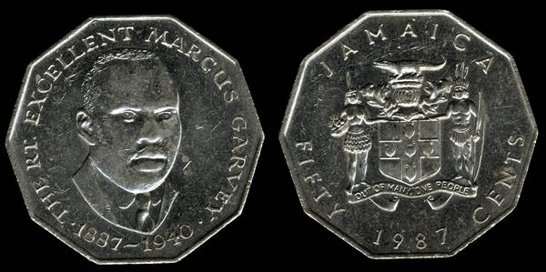 Jamaica 50 Cents 1987