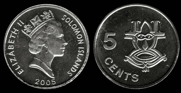 Solomon Islands 5 cents 2005