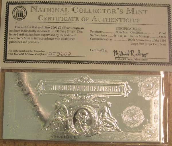 National Collector's Mint, Inc. is an independent, private corporation not affiliated with, endorsed, or licensed by the U.S. government or the U.S. Mint. All tributes to original coins contain the