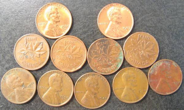 What cents and Canadian cents from 2nd box search 2008-06-23