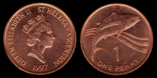 St Helena and Ascention 1 Penny 1997